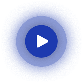 Blue Video Play Button